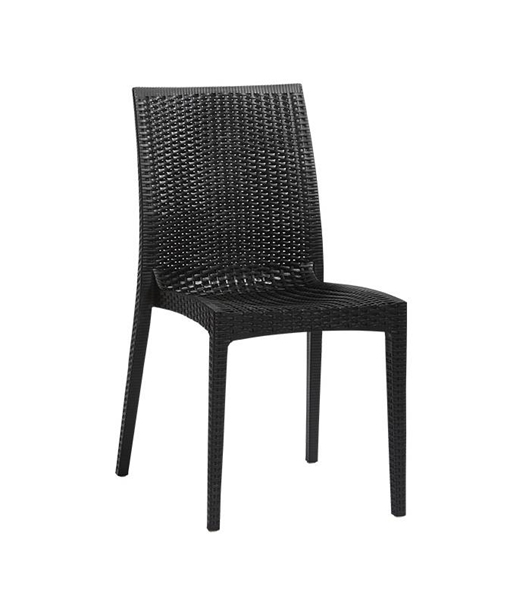 Imagem de Cadeira Fixa Ibiza Preta