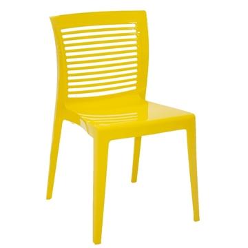 Imagem de Cadeira Victória Encosto Horizontal Amarelo